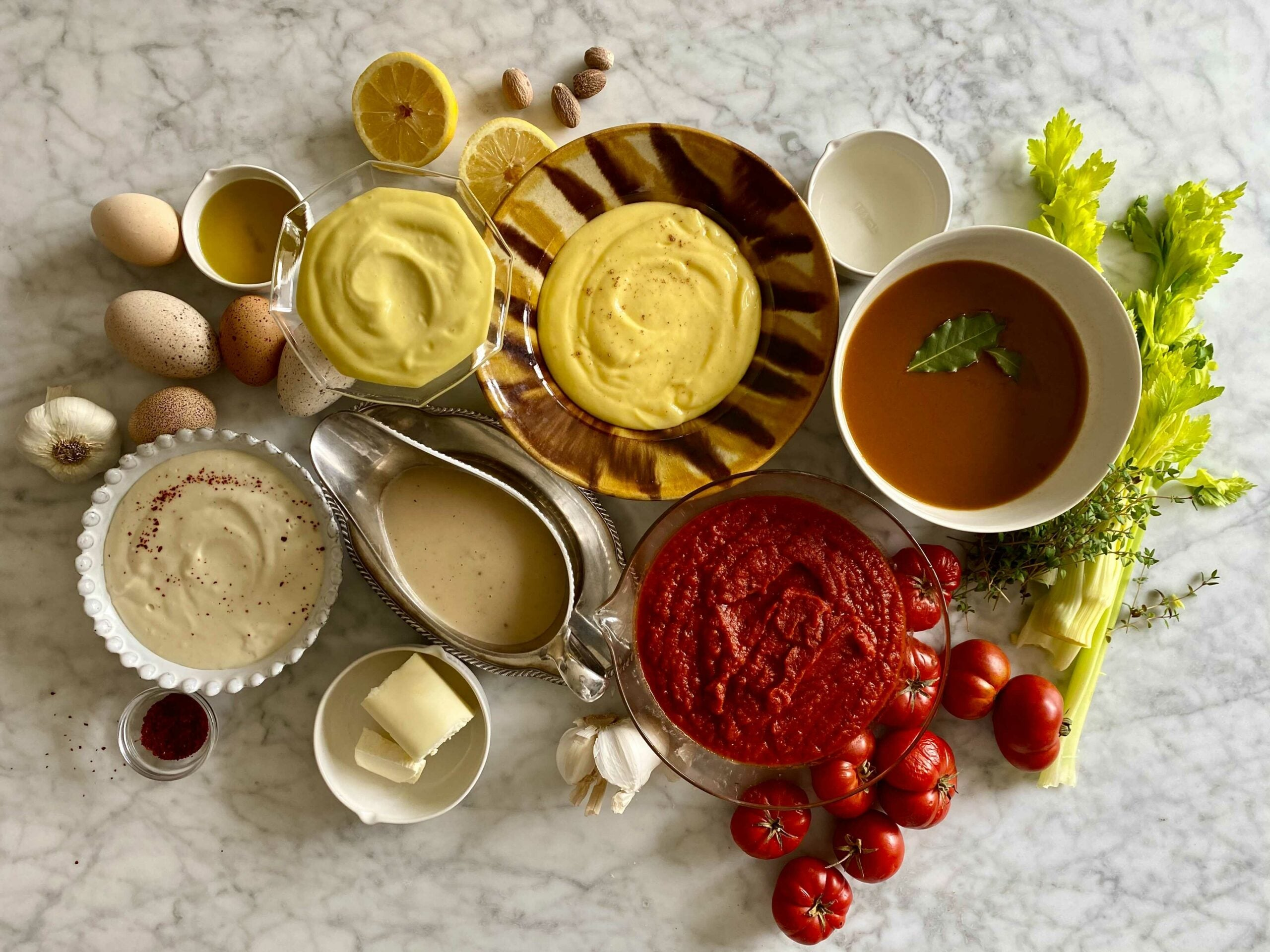 French Mother Sauces