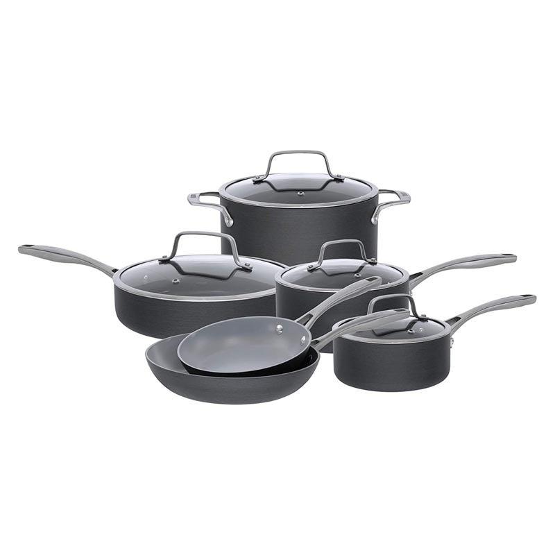 The Best Ceramic Cookware Option: Bialetti 10-Piece Ceramic Pro Cookware Set