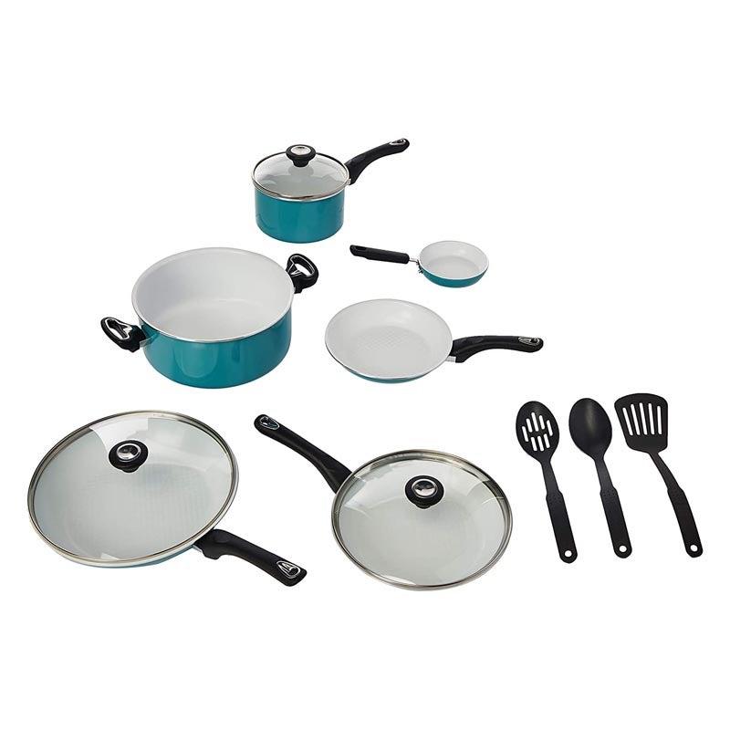 The Best Ceramic Cookware Option: Farberware Ceramic Nonstick Cookware 12-Piece Set