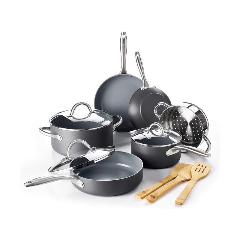 The Best Ceramic Cookware Option: GreenPan Lima Ceramic 12-Piece Cookware Set