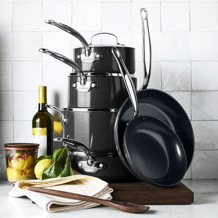 The Best Ceramic Cookware Option: GreenPan Revolution Ceramic Nonstick 10-Piece Cookware Set