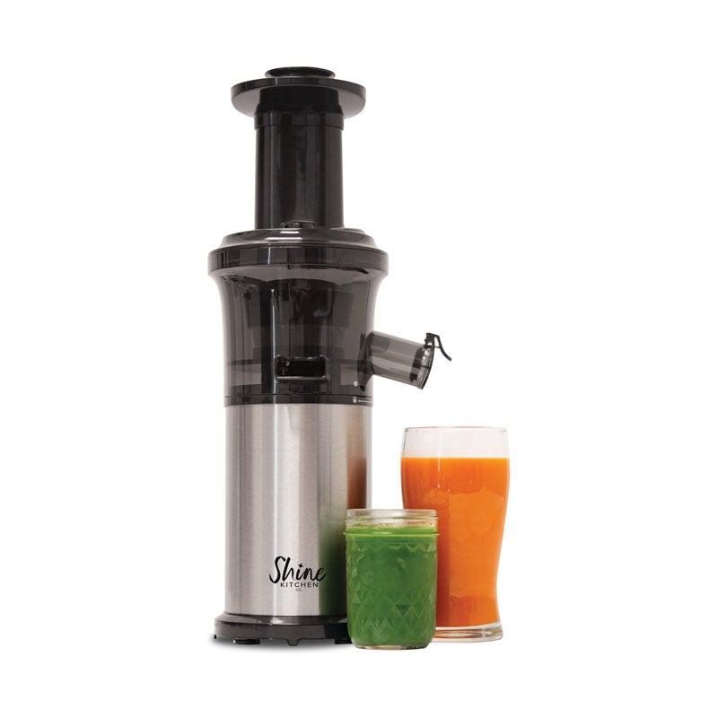 The Best Juicers Option Tribest Shine Kitchen Co. Cold Press Vertical Slow Juicer