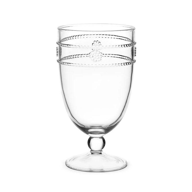 he Best Plastic Wine Glasses Option Juliska Isabella Acrylic Goblet