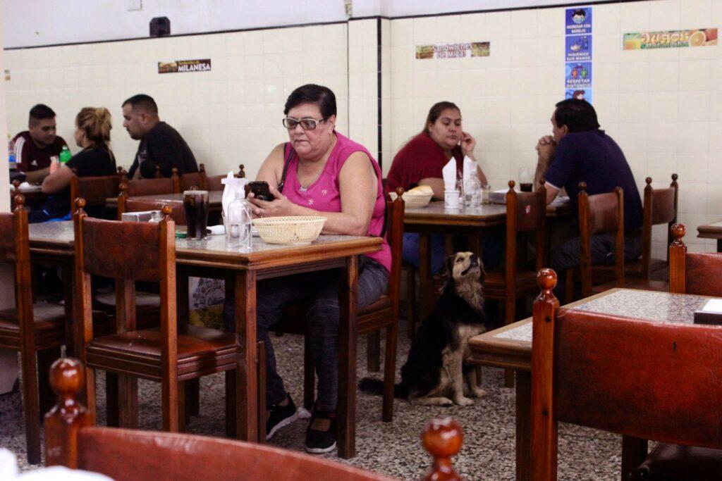La Central restaurant interior in Buenos Aires by Kevin Vaughn