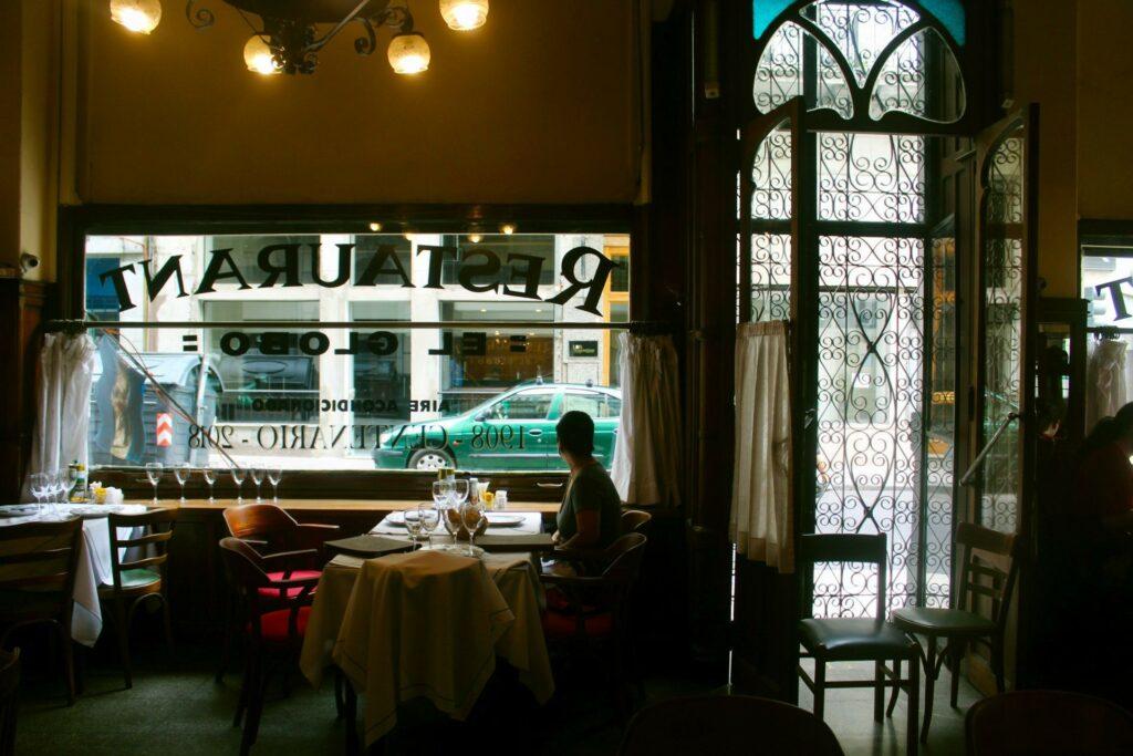 El Globo Restaurant Interior in Buenos Aires by Kevin Vaughn