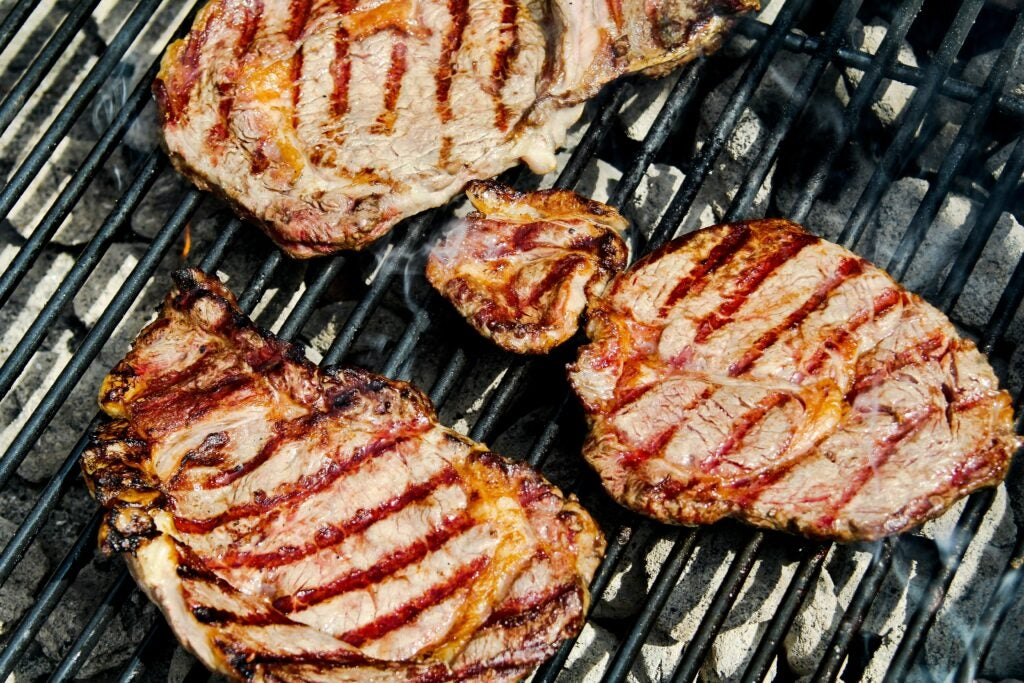 Grilling Italian Steaks on the Barbecue