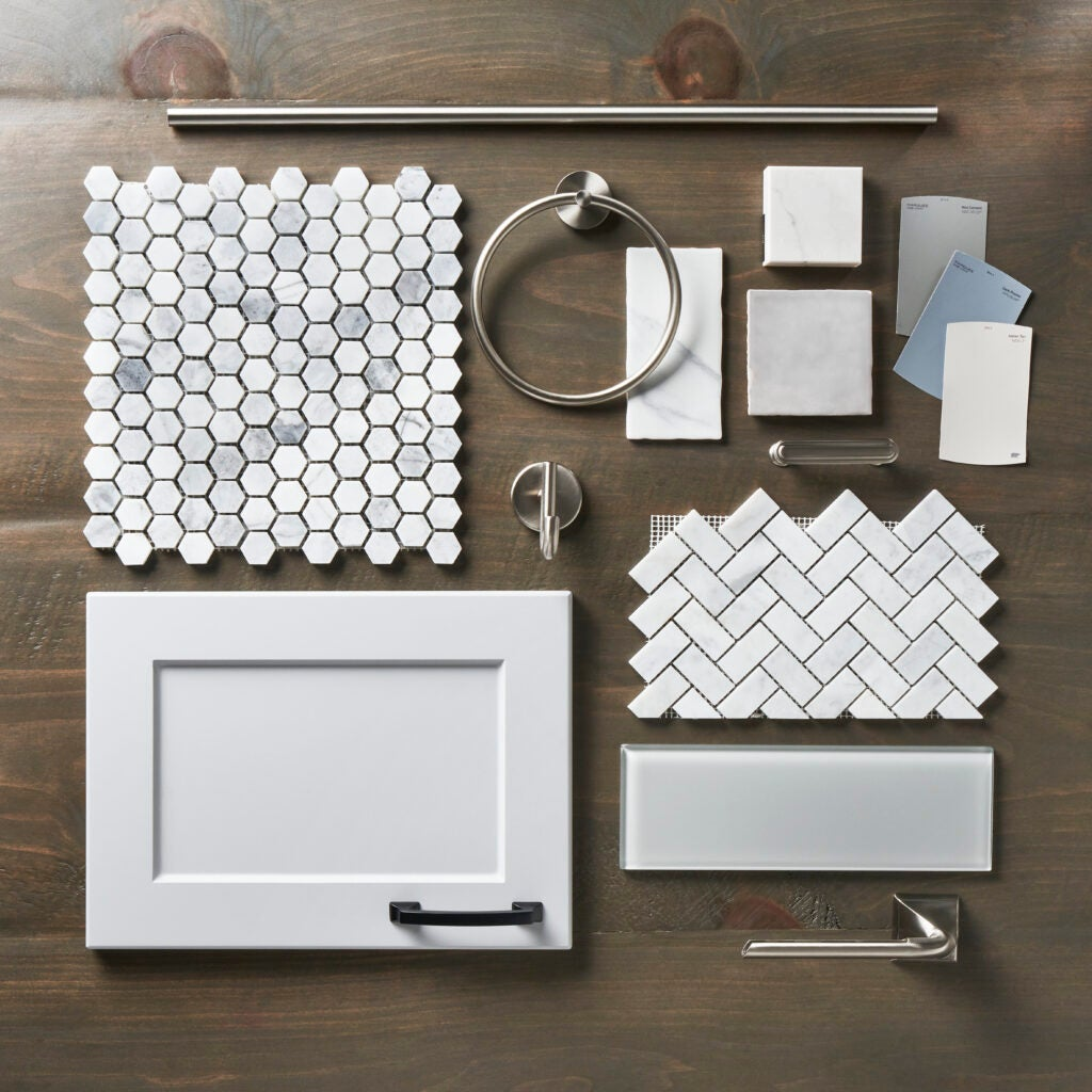 Home Depot Home Organization Services With White Tiles