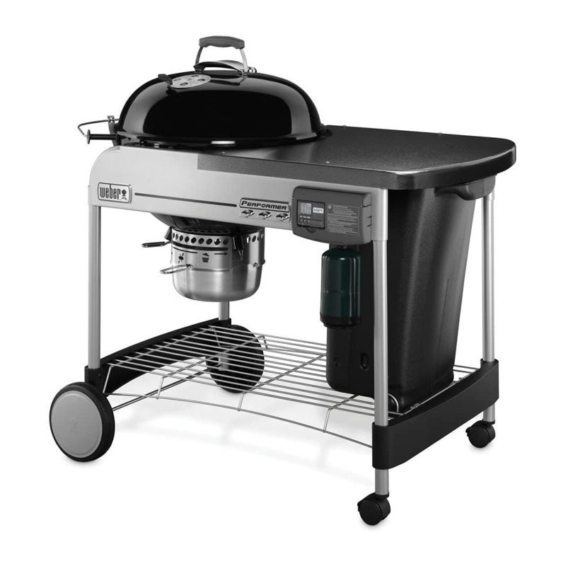 The Best Charcoal Grills Option Weber Performer Deluxe Charcoal Grill