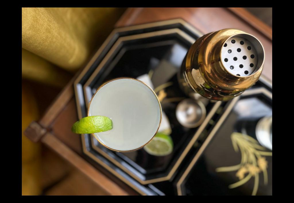 Gin Gimlet by Céline Bossart Topdown