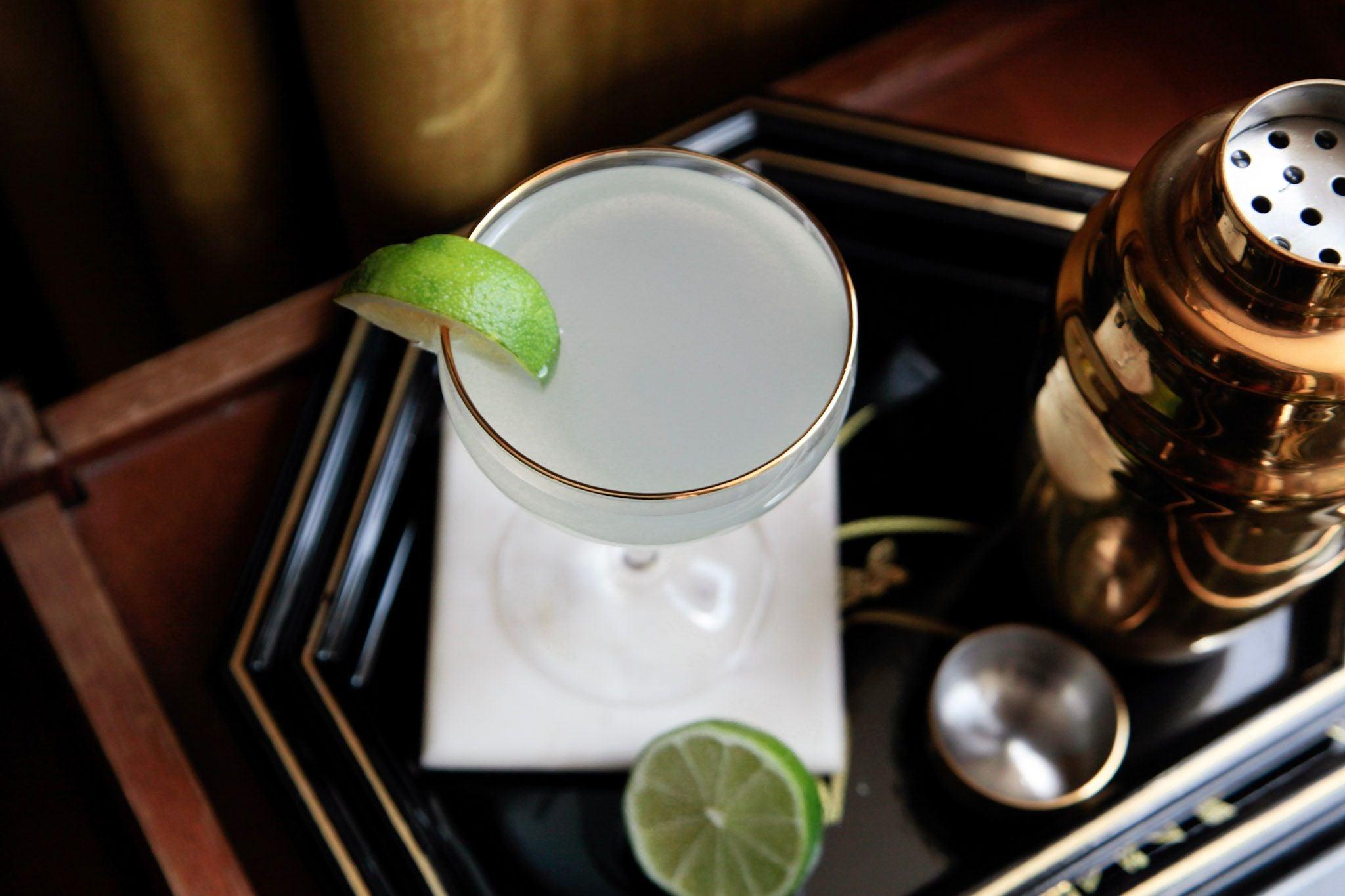 Gin Gimlet Celine Bossart Classic Cocktails
