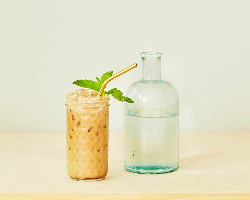 Iced Coffee from Aeropress by Belle Morizio