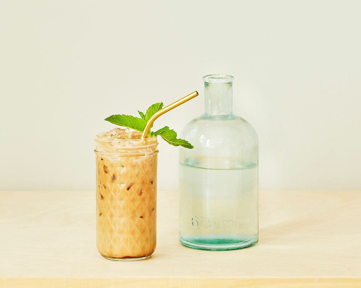 Minty Mocha Cold brew coffee by Belle Morizio