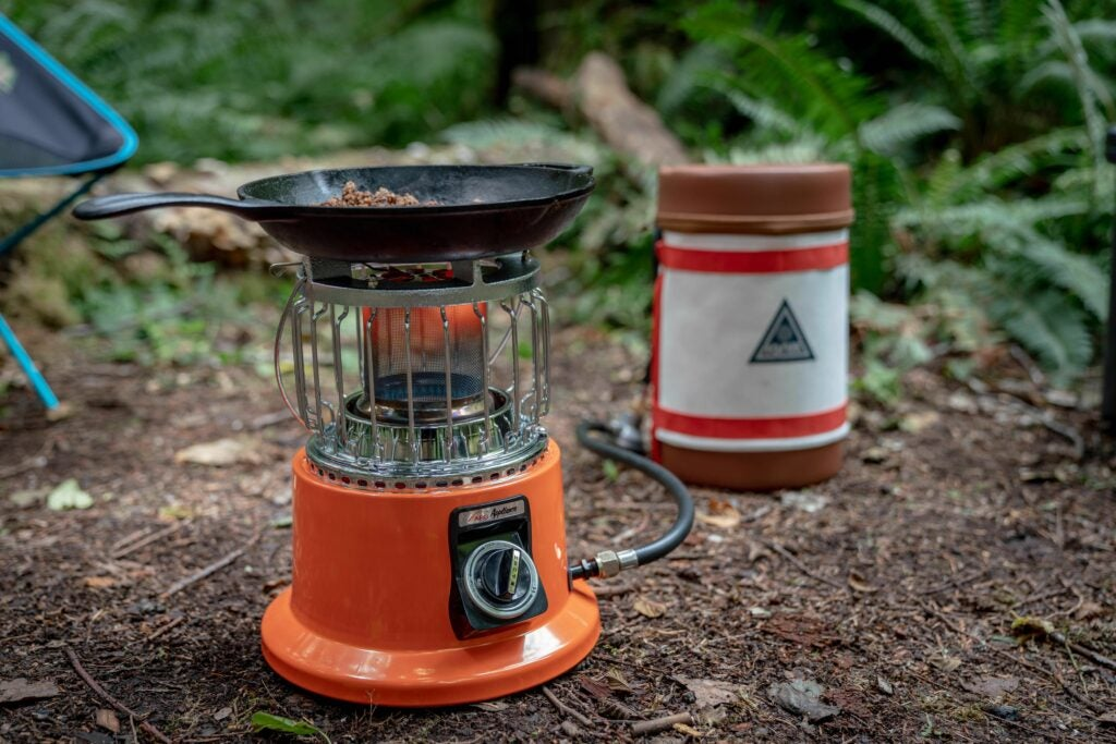 Ignik GSI two burner propane stove