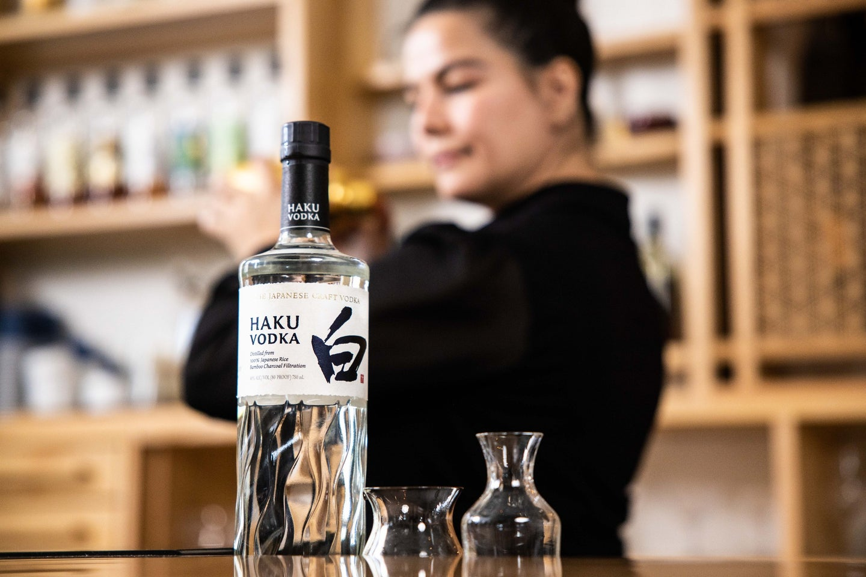 Suntory Haku Vodka by Elliot Clark