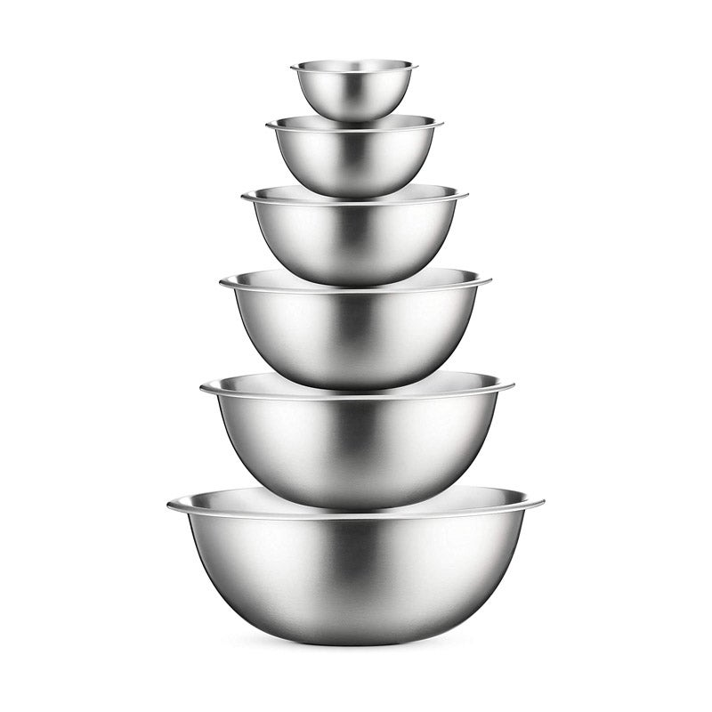 The Best Mixing Bowl Option FineDine Stainless Steel Mixing Bowls Set