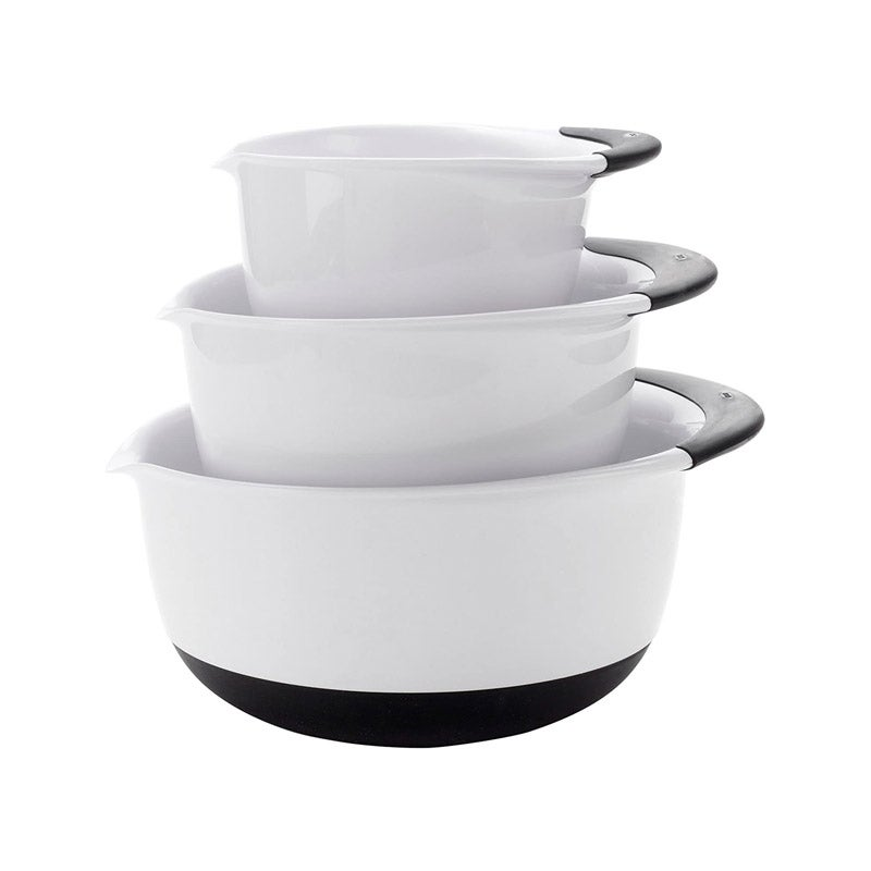 The Best Mixing Bowl Option OXO Good Grips 3-Piece Mixing Bowl Set
