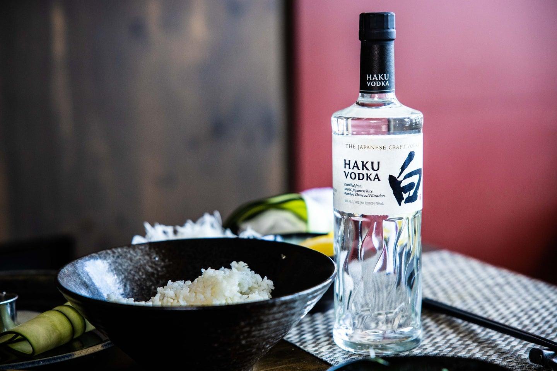 Japanese Rice Suntory Haku Vodka