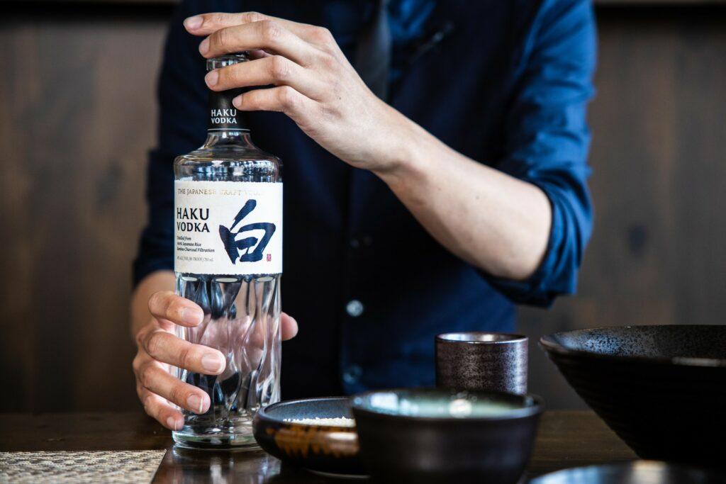 Suntory Haku Vodka Simon Liew