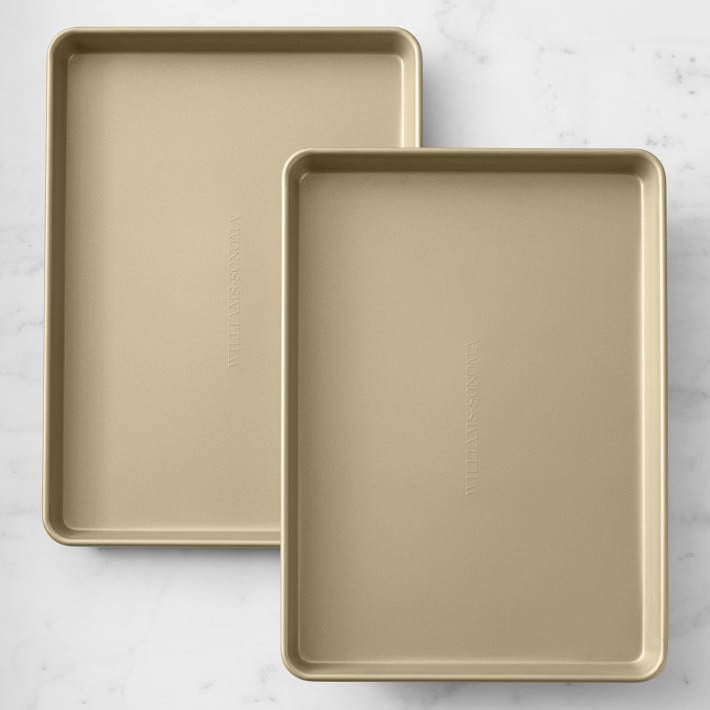 The Best Baking Sheets Option Williams Sonoma Goldtouch Pro Nonstick Sheet Pan