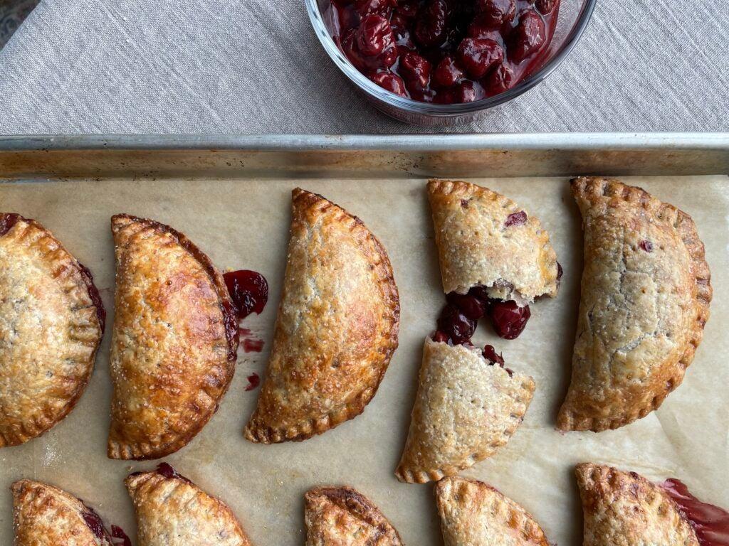 Sour Cherry Hand Pie Recipe