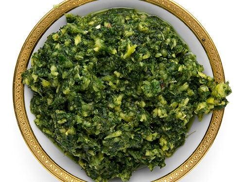 Mint and Green Mango Chutney