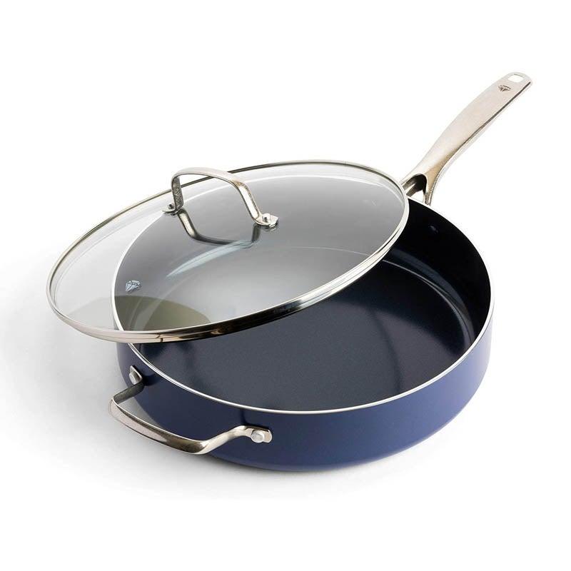 The Best Saute Pans Option Blue Diamond Cookware Ceramic Sauté Pan
