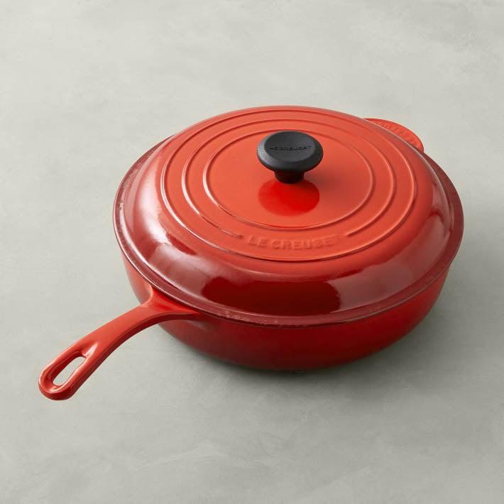 The Best Saute Pans Option Le Creuset Signature Enameled Cast Iron Deep Sauté Pan