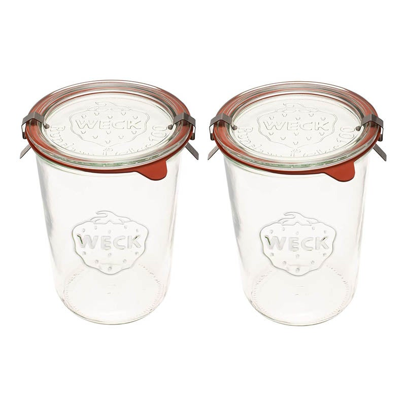 The Best Glass Food Storage Container Option Weck Canning Jars