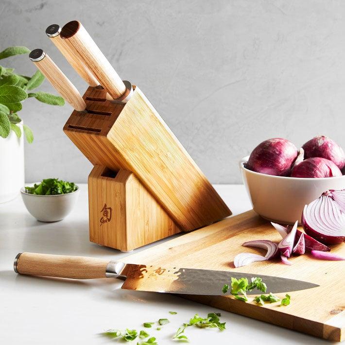 The Best Kitchen Knife Set Option Shun Premier Blonde Knife Block Set