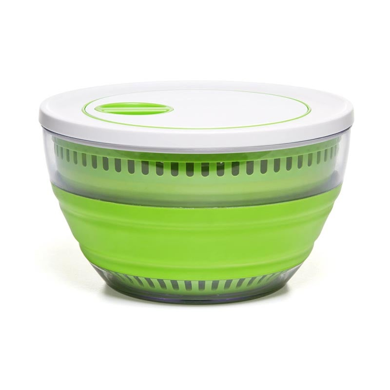 The Best Salad Spinners Option Prepworks by Progressive Collapsible Salad Spinner