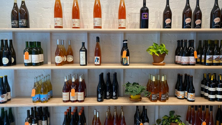 Orange Glou Natural Wine Selection