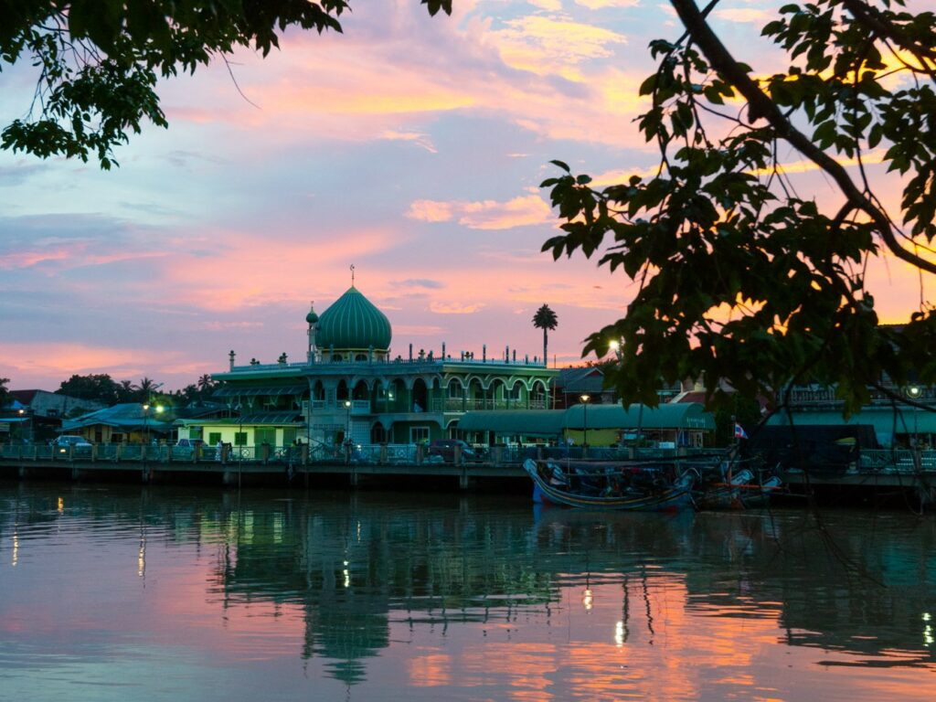 Mosque in Pattani and Yala, Thailand