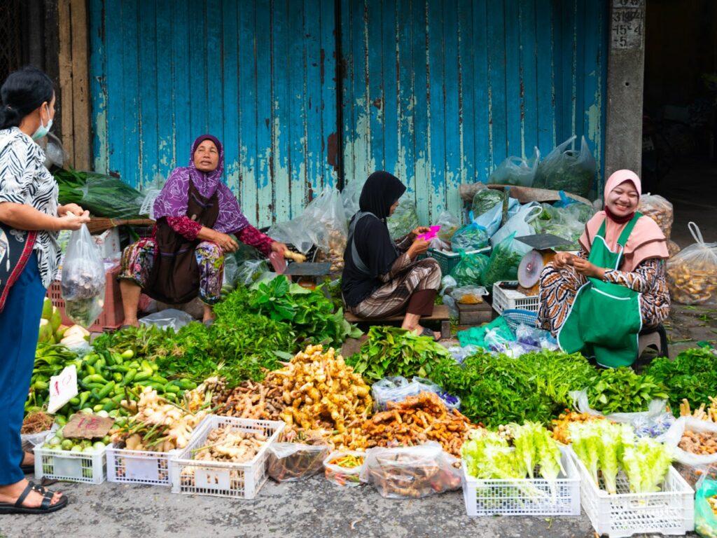Street Markets in Yala, Thailand