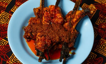 Kai Kawlae (Southern Thai-Style Grilled Chicken)