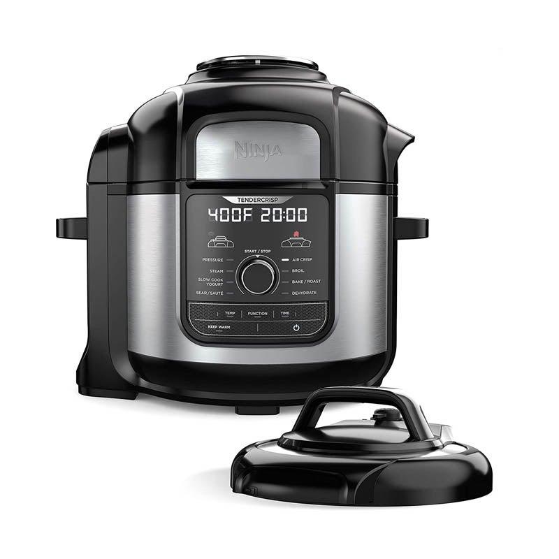 The Best Air Fryer Option Ninja Foodi Deluxe Pressure Cooker