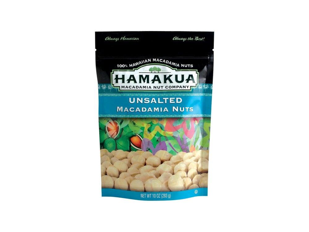 Hamakua Nut Company Unsalted Macadamia Nuts