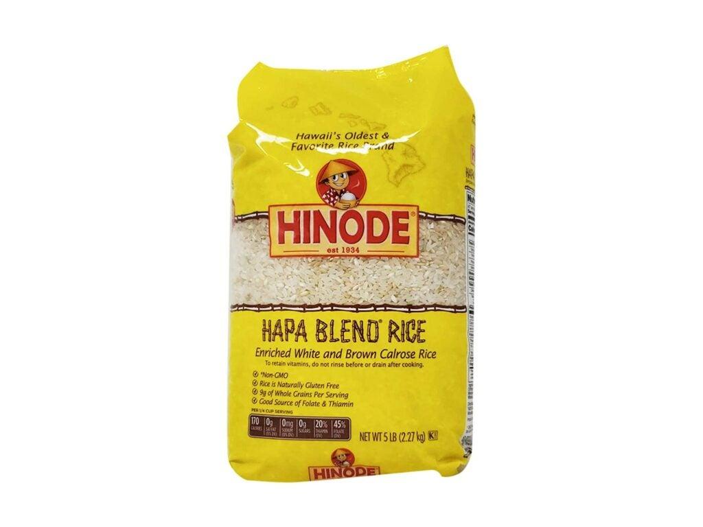 Hinode Hapa Blend Rice Hawaiian Pantry Ingredient