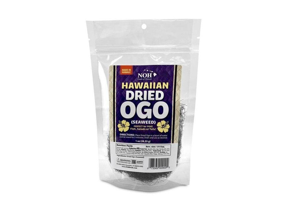 Noh Foods Hawaiian Pantry Ingredients Dried Ogo Seaweed