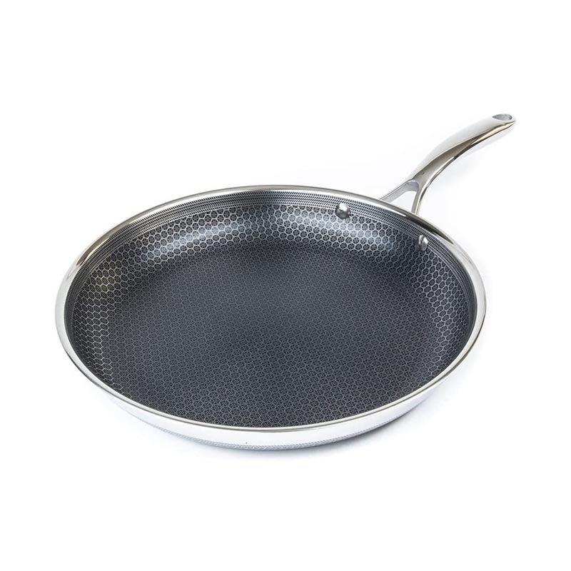 The Best Nonstick Cookware Option Hexclad Stainless Steel Frying Pan