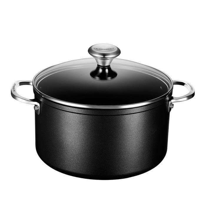 The Best Nonstick Cookware Option Le Creuset Toughened Nonstick Pro Stock Pot