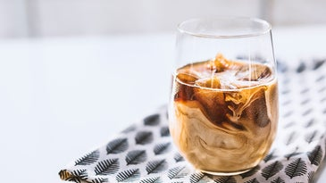 cold brew coffee in a glass