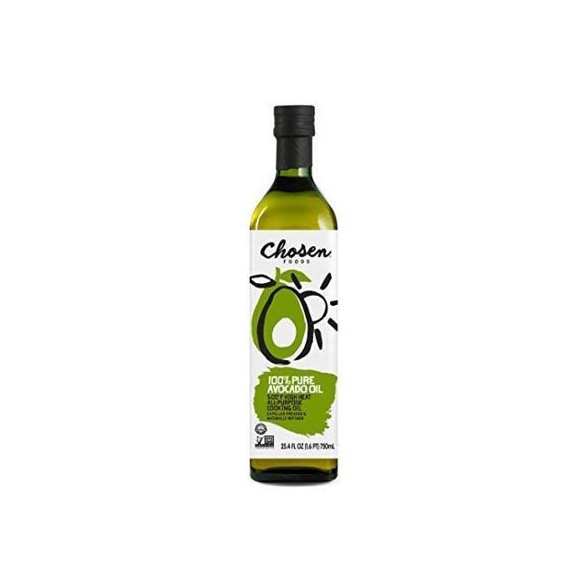 The Best Oils Option Chosen Foods 100% Pure Avocado Oil