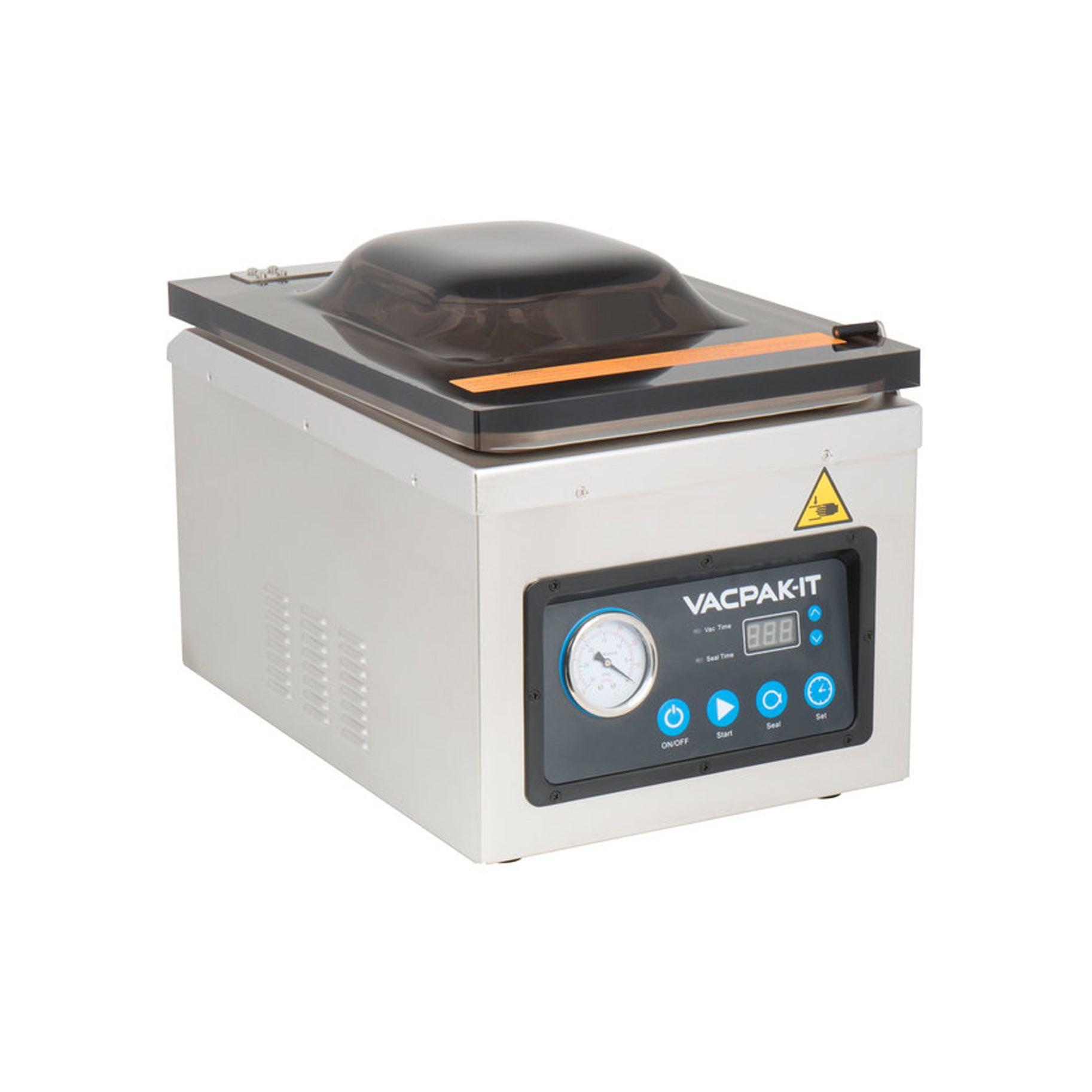 The Best Food Storage Container Option: VacPak-It VMC100P Chamber Vacuum Packaging Machine