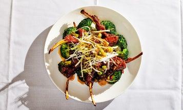 Peking-Style Lamb Chops