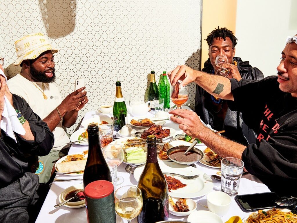 Champagne Wine Migos Dunking Ribs