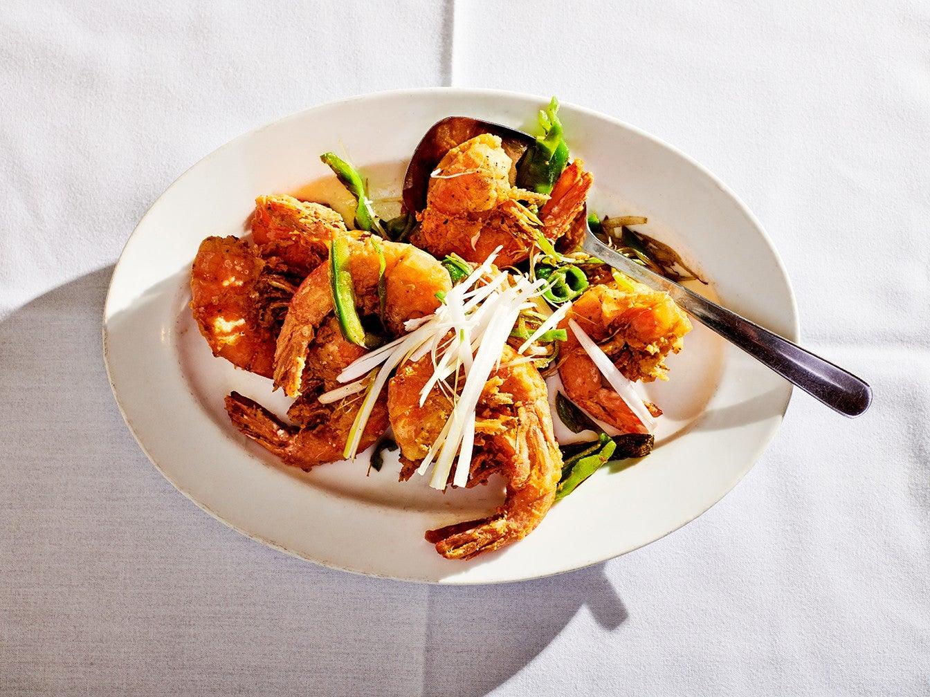 Salt and Pepper Shrimp from Peking Duck House