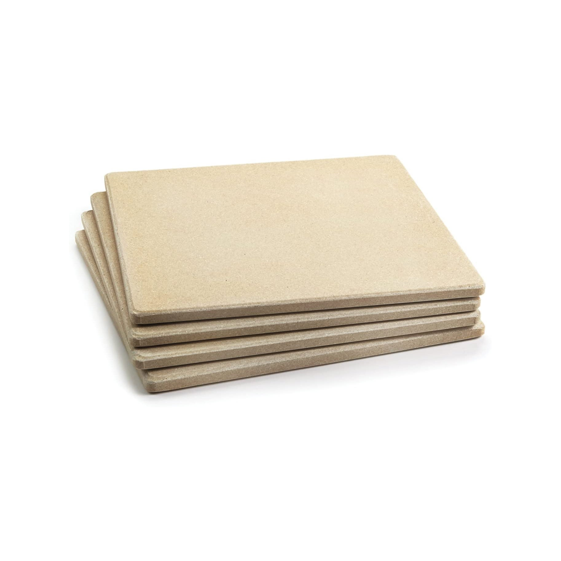 The Best Pizza Stone Option: Set of Four Ceramic Tiles by Outset