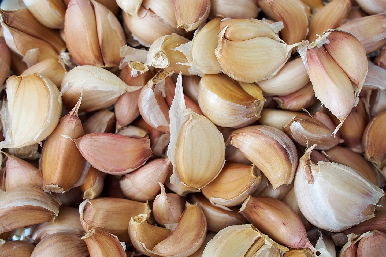 A Table Full Of Garlics