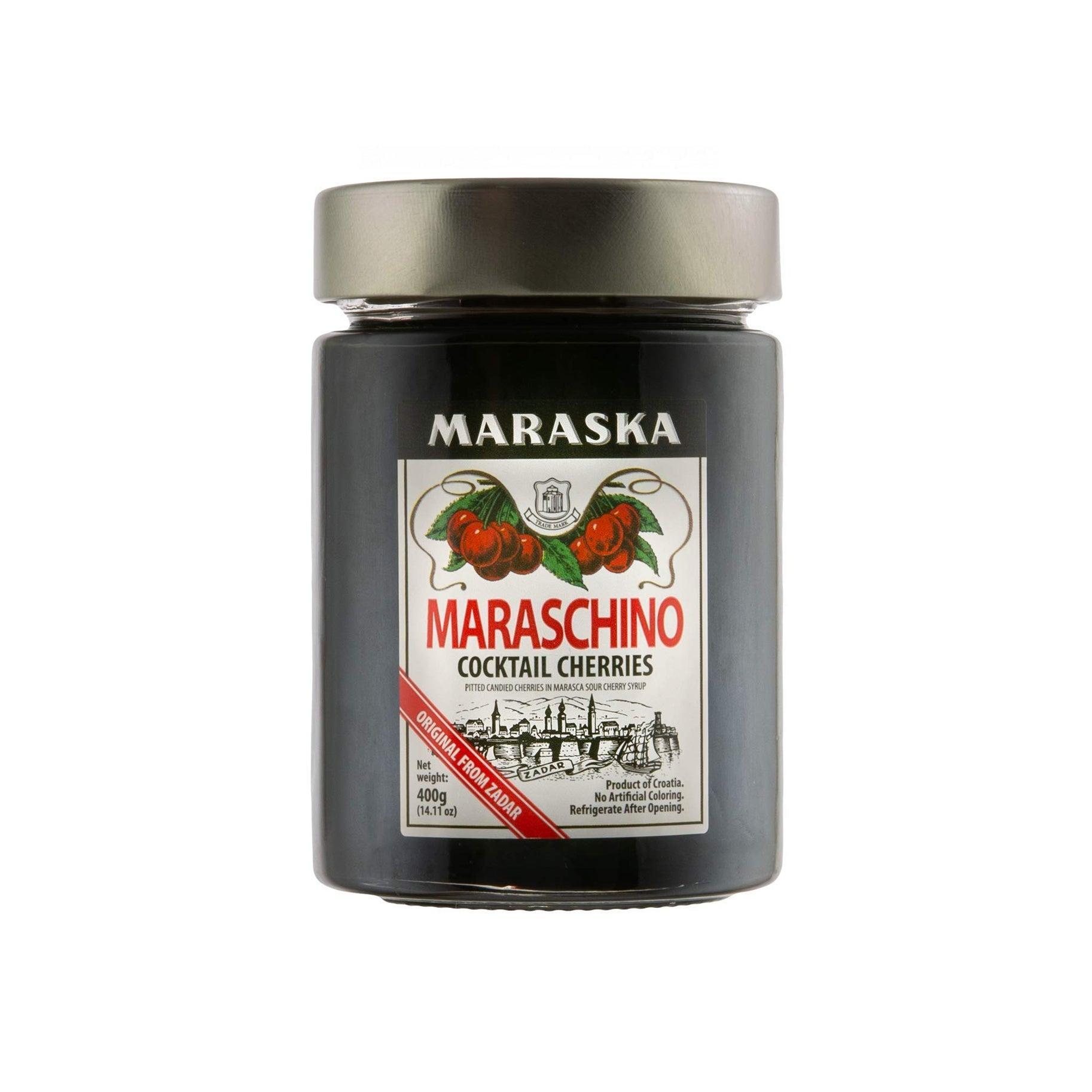 The Best Cocktail Cherries Option: Maraska Maraschino Cocktail Cherries