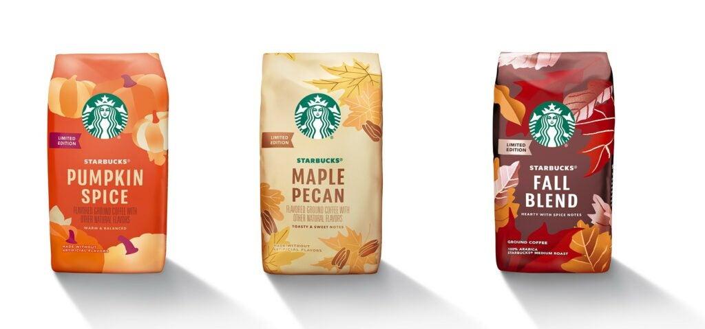 Starbucks Coffee Fall Flavors